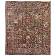 Wonderful Early 20th Century Bakhtiari Rug