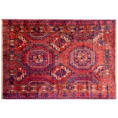 Wonderful Early 20th Century Juval Bag Face Rug