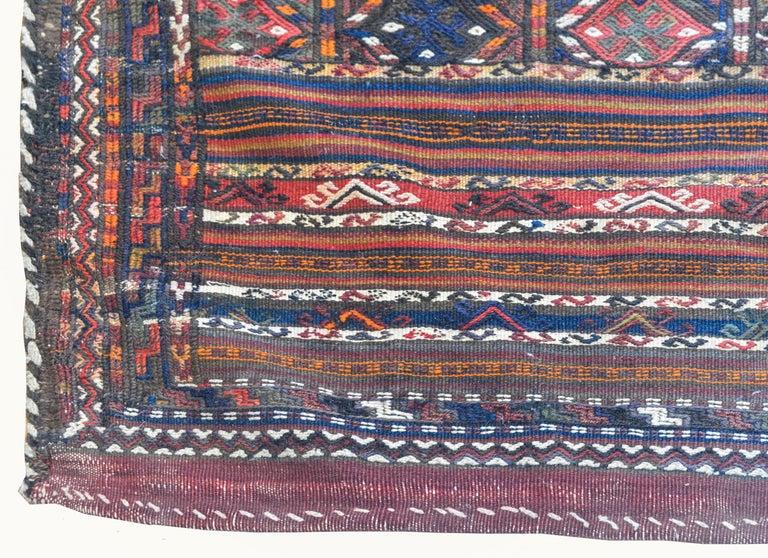 Kilim Wonderful Early 20th Century Shahsevan Rug For Sale