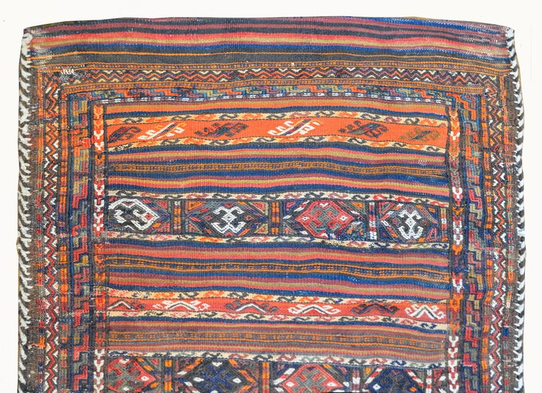 Persian Wonderful Early 20th Century Shahsevan Rug For Sale
