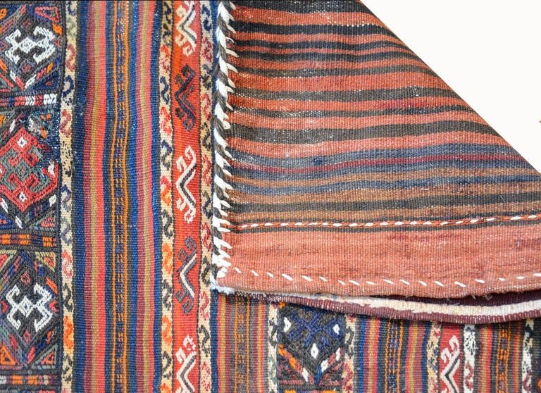Wonderful Early 20th Century Shahsevan Rug In Good Condition For Sale In Chicago, IL