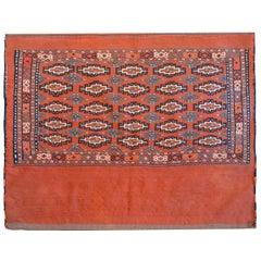Wonderful Early 20th Century Turkomen Bag Face
