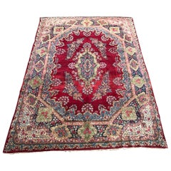 Wonderful extremely Fine and Large Kirman rug With Savonnerie Design