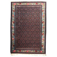 Wonderful Fine Antique Kurdish Senneh Style Rug