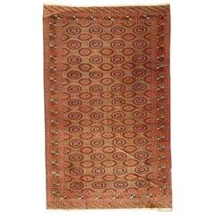 Wonderful Fine Antique Large Turkmen Rug