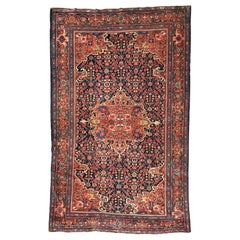 Wonderful Fine Antique Sarouk Rug