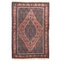 Wonderful Fine Antique Senneh Rug