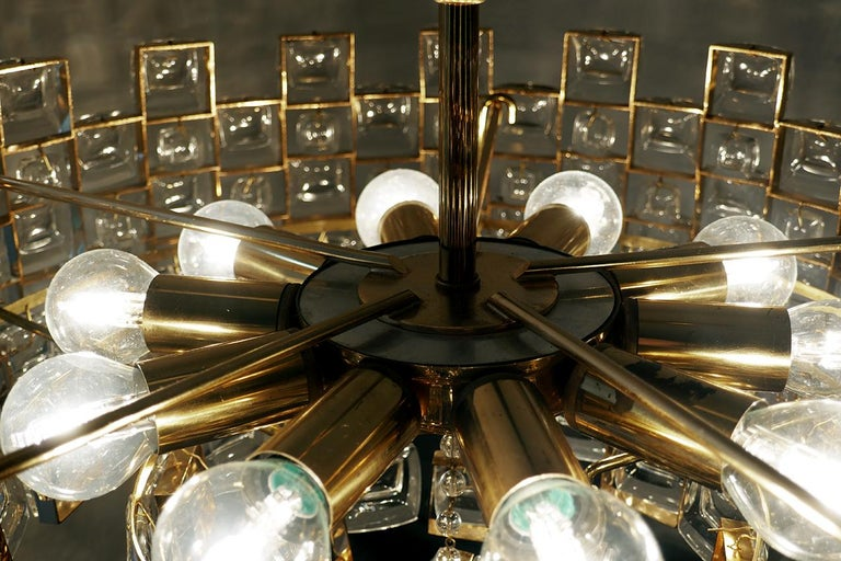 20th Century Wonderful German Vintage Ceiling Light Chandelier, 1960s For Sale