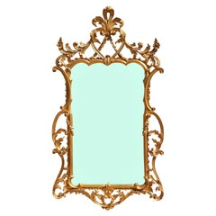 Wonderful Gold Louis Style French Ornate Mirror