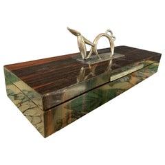 Wonderful Hagenauer Silver Donkey Box