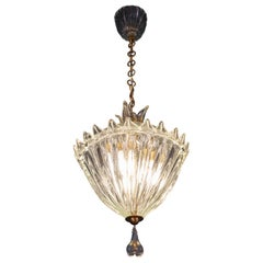 Wonderful Italian Art Deco Lantern by Barovier&Toso, 1940