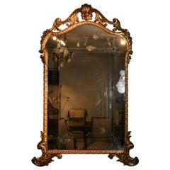 Wonderful Italian Gilt 18th Century Mirror