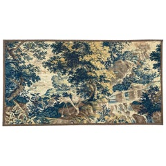 Wonderful Large 18th Century Fine French Aubusson Tapestry