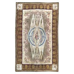 Wonderful Large Antique French Savonnerie Carpet Aubusson Rugs Carpets