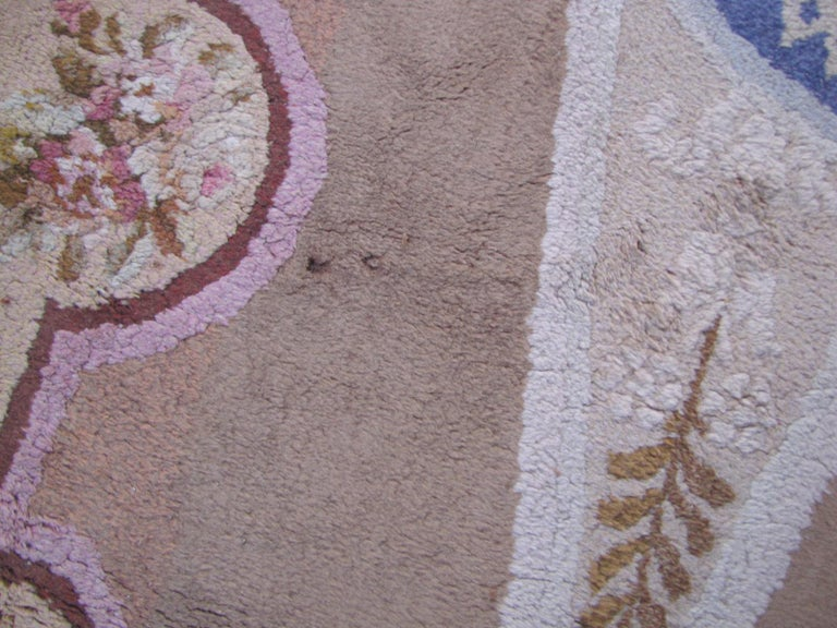 Wonderful Large Antique French Savonnerie Carpet For Sale 3