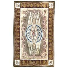 Wonderful Large Antique French Savonnerie Carpet