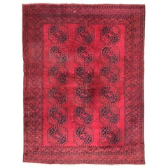 Wonderful Large Ersari Afghan Rug