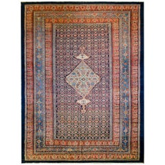 Wonderful Late 19th Century Bibikibad Rug