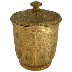 Wonderful Marshall Field & Company Bronze Lidded Champagne Ice Bucket Cooler