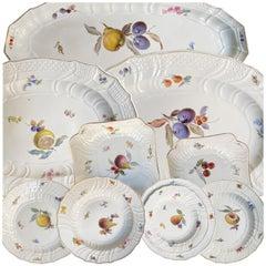 Wonderful Meissen Porcelain Dinner Service, 19th Century
