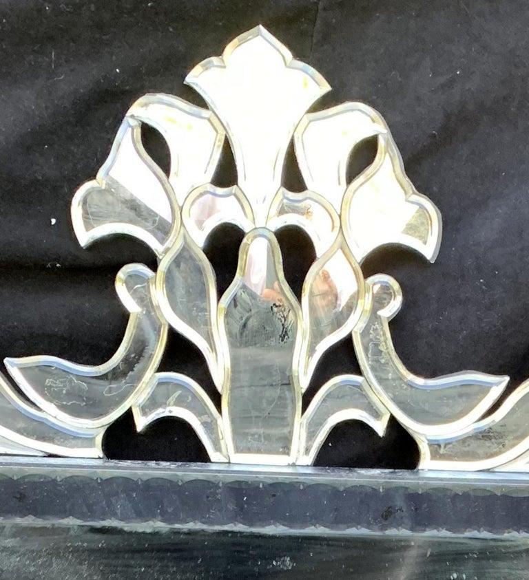 20th Century Wonderful Mid-Century Modern Venetian, Italian Mirror For Sale