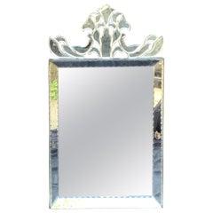 Wonderful Mid-Century Modern Venetian, Italian Mirror