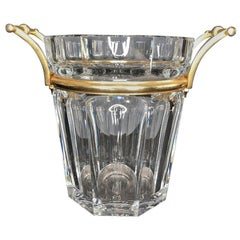 Wonderful Modern Baccarat Moulin Rouge Crystal Champagne Cooler Ice Bucket Vase
