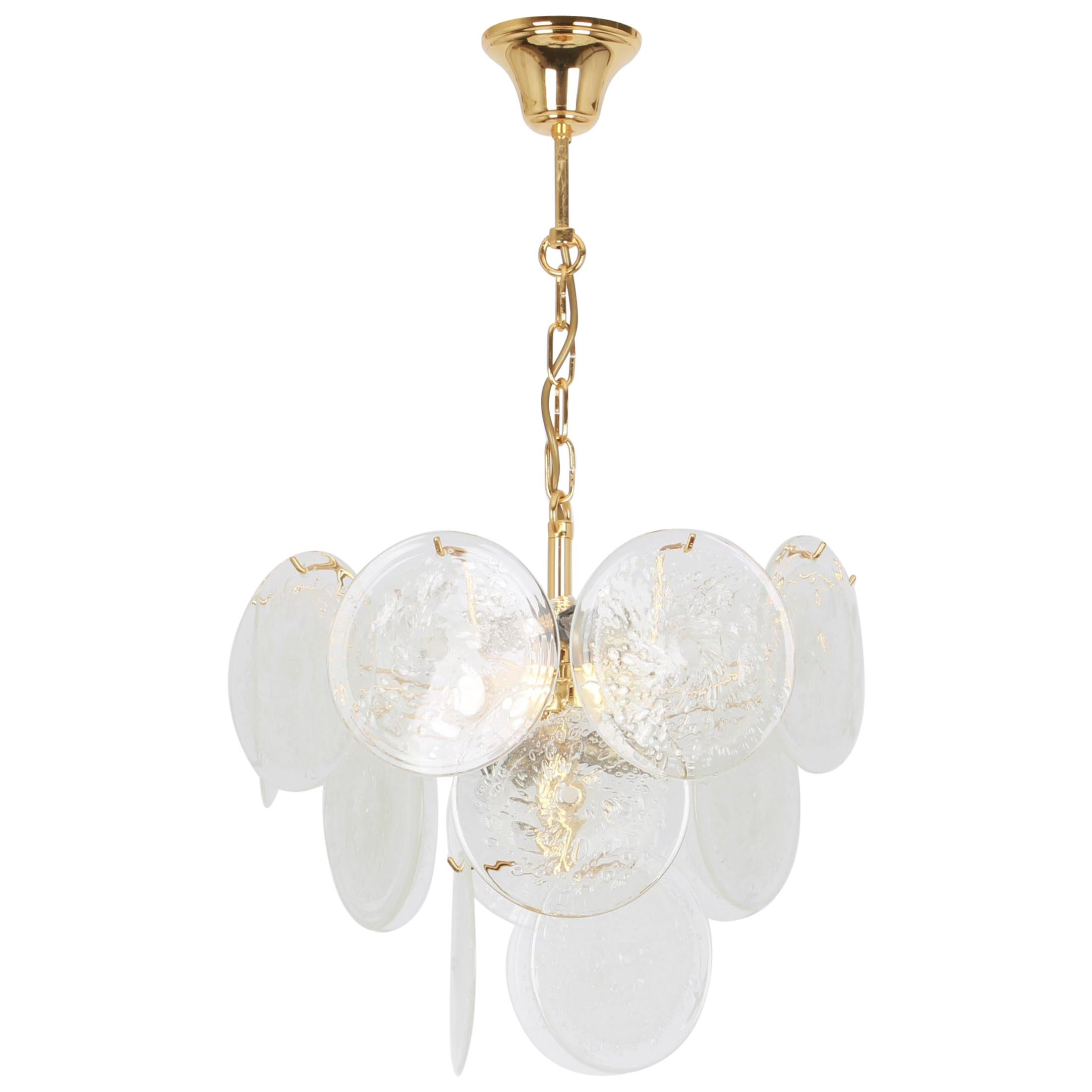 Gino Vistosi Chandeliers and Pendants 57 For Sale at 1stDibs