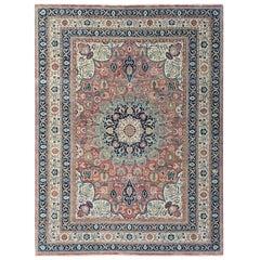 Wonderful New Persian Design Fine Indian Rug
