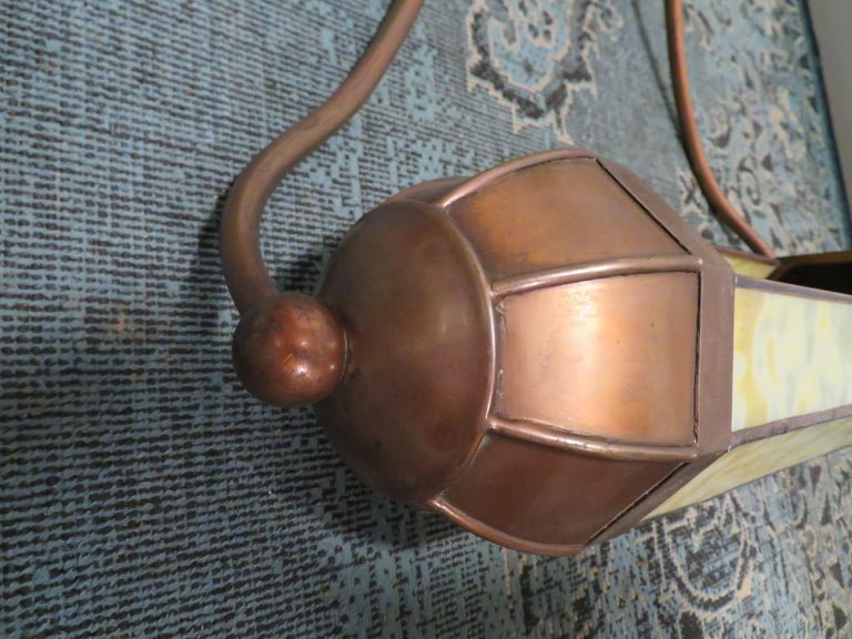 Wonderful Pair Art Deco Tiffany Style Bronze Picture Light for Art Illumination For Sale 3
