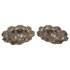 Wonderful Pair of Reed & Barton Francis I Old Sterling Silver Bowls