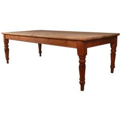Wonderful Pine Farmhouse Kitchen Table