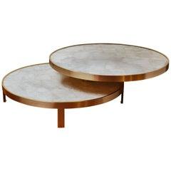 Wonderful Rock Crystal Coffee Table by Studio Glustin