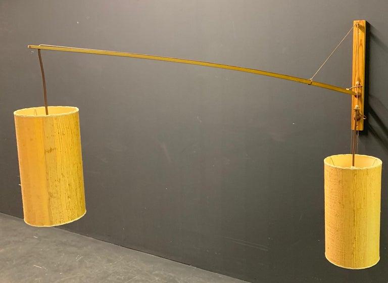 Wonderful Rupprecht Skrip Counter Weight Wall Lamp  For Sale 8