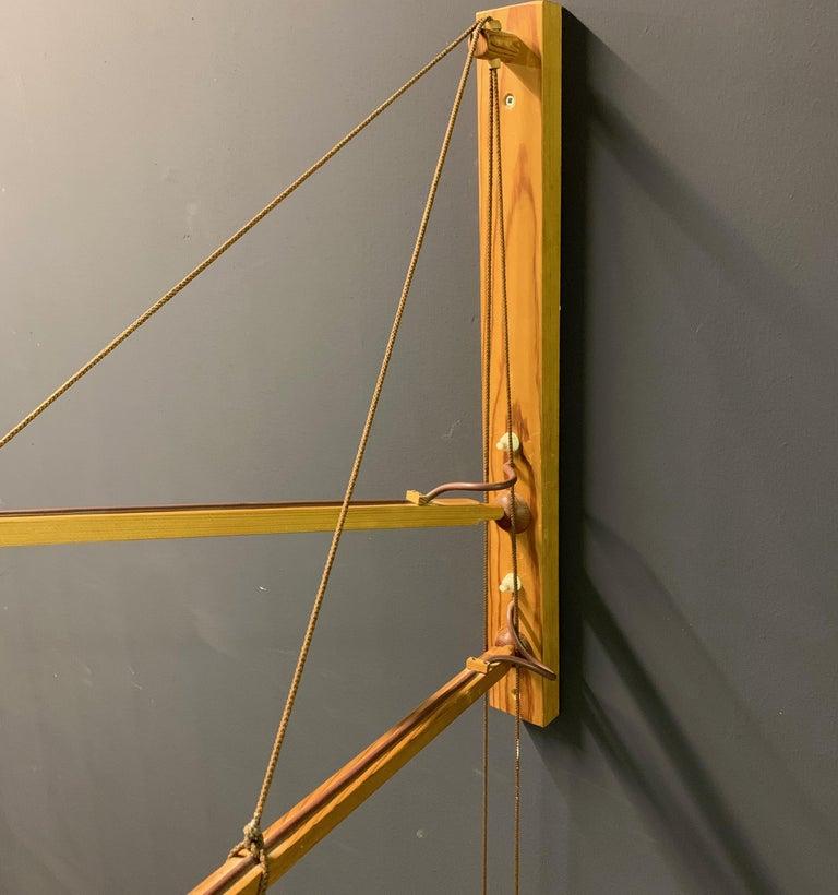 Wonderful Rupprecht Skrip Counter Weight Wall Lamp  For Sale 11