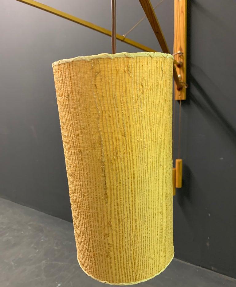 Wonderful Rupprecht Skrip Counter Weight Wall Lamp  For Sale 12
