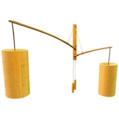 Wonderful Rupprecht Skrip Counter Weight Wall Lamp