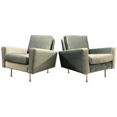 Wonderful Set of No.25 Lounge Chairs by Florence Knoll / Like New