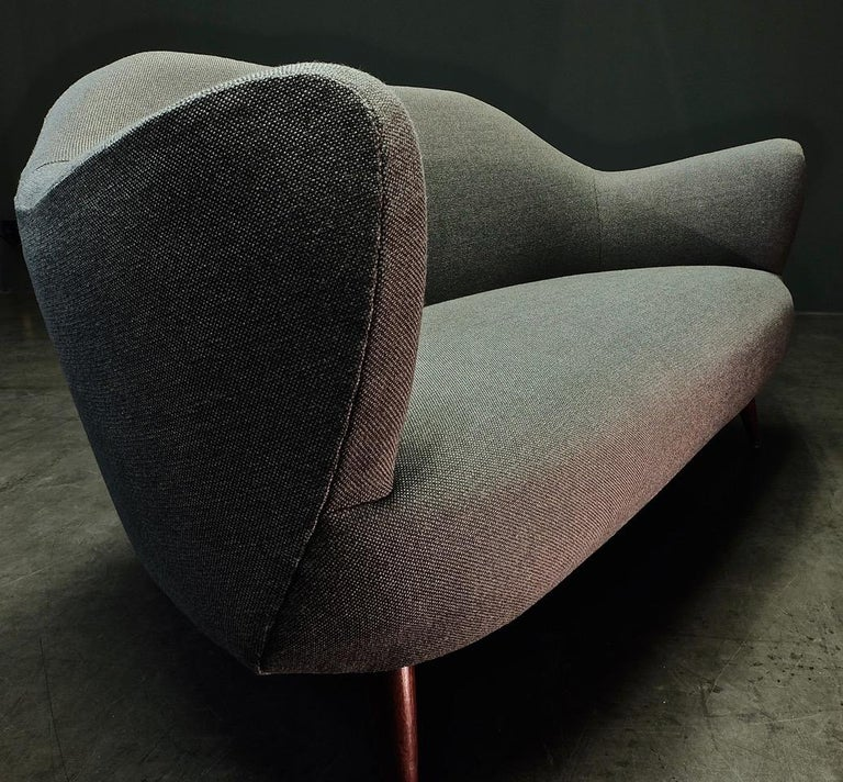 Wonderful Settee with Amazing Shape For Sale 5