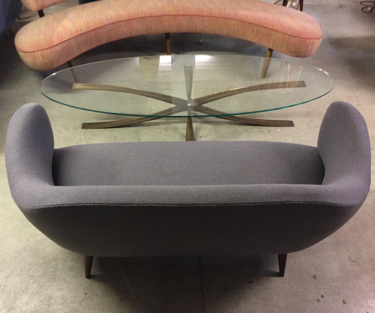 Wonderful Settee with Amazing Shape For Sale 11
