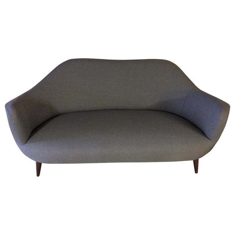 Wonderful Settee with Amazing Shape For Sale