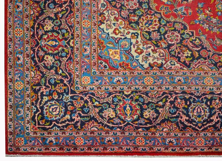 Wonderful Traditional Kashan Rug For Sale 1