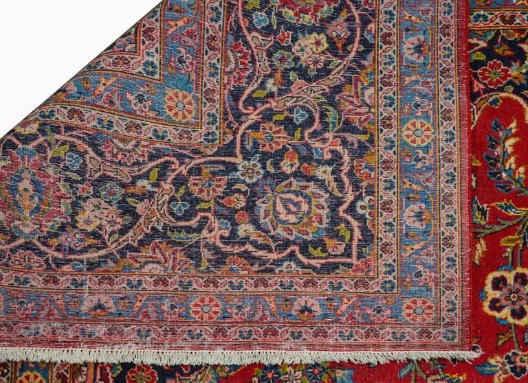 Wonderful Traditional Kashan Rug For Sale 2
