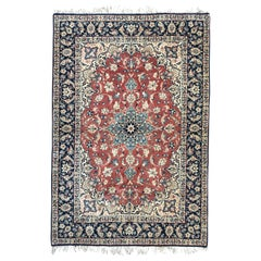 Wonderful Very Fine Hand Knotted Isfahan Rug