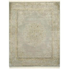 Wonderful Very Fine Luxurious New Indian Persian Design Rug