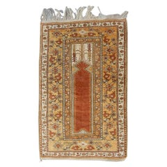 Wonderful Vintage Anatolian Prayer Rug