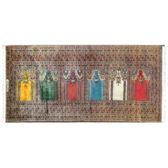 Wonderful Vintage Bokhara Prayer Rug
