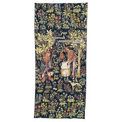 Wonderful Vintage Jaquar Tapestry Aubusson Style Medieval Design