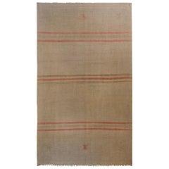 Wonderful Vintage Konya Kilim Rug