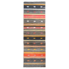Wonderful Vintage Konya Kilim Runner